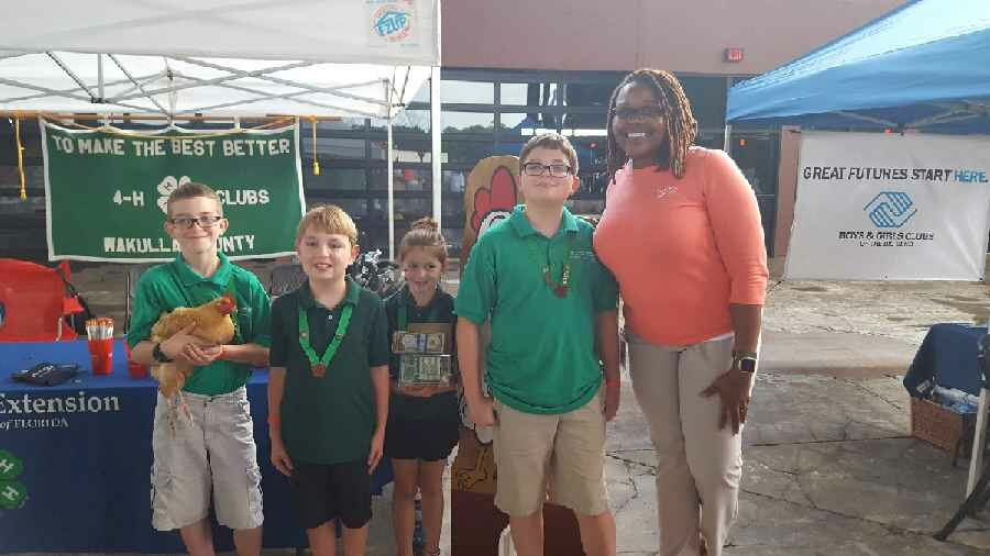CAMPUS USA Credit Union & Wakulla County 4-H