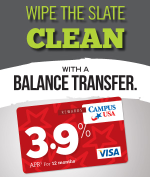Wipe the slate clean with a low-rate balance transfer.