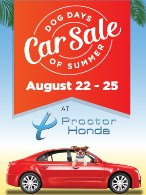 Dog Days Car Sale August 22