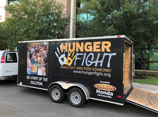 Hunger Fight at CAMPUS USA Credit Union 2018