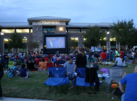 Movie On The Lawn at CAMPUS USA Credit Union