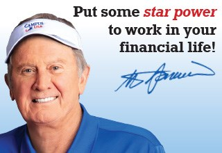 Put some star power to work in your financial life! - Steve Spurrier