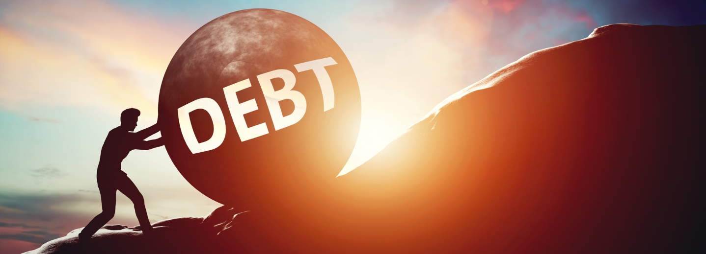 Debt as an uphill battle