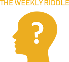Weekly Riddle