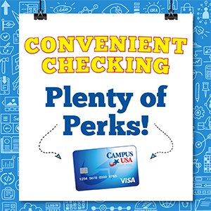 Convenient Checking - Plenty of Perks