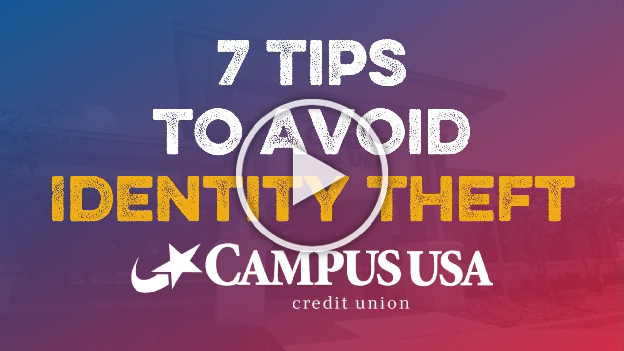 7 tips to avoid identity theft
